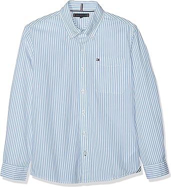 Tommy Hilfiger Essential Stripe Shirt L/S Camisa para Niños