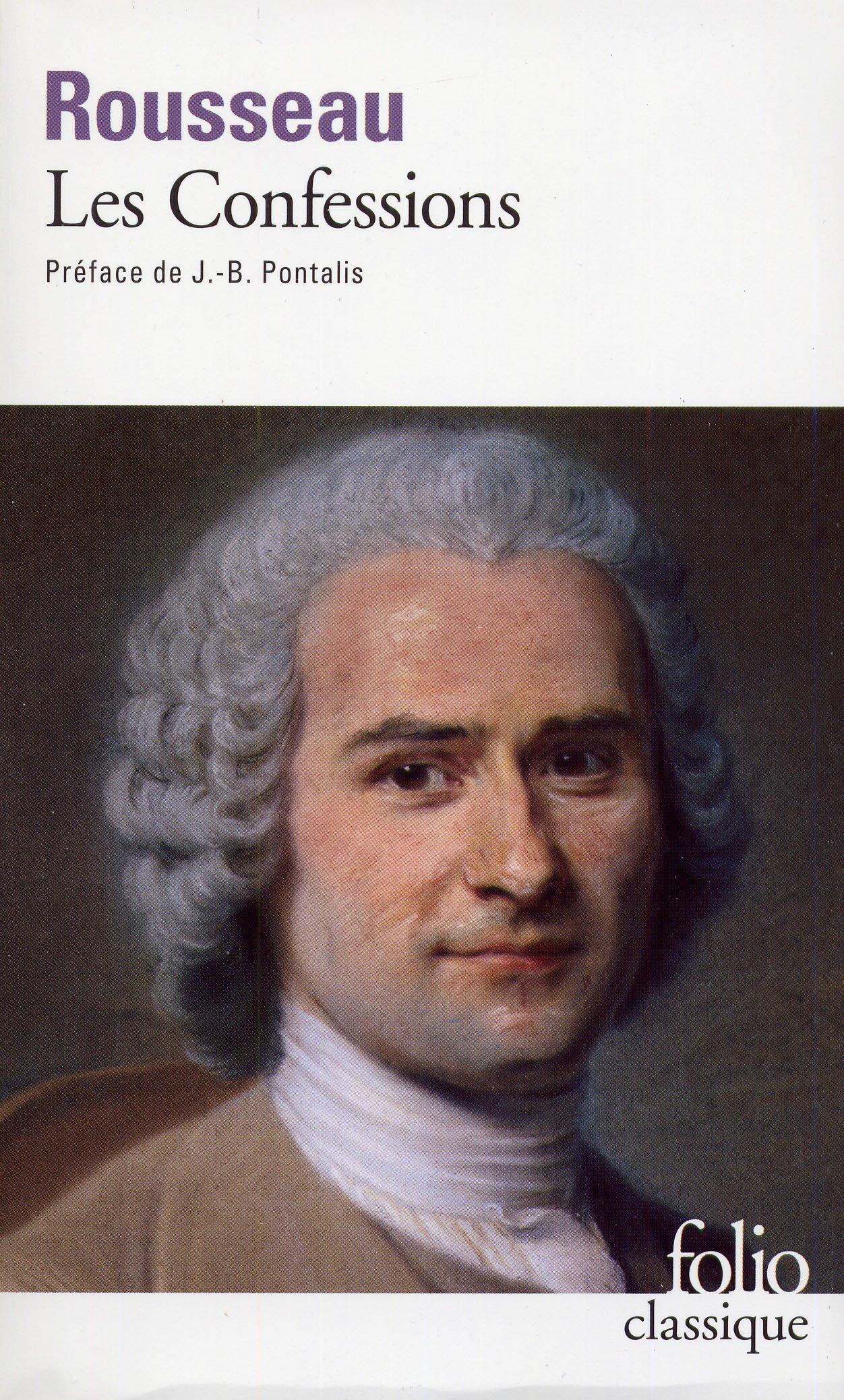 Confessions Rouss (Folio (Gallimard))