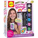 Alex Craft Paint and Sip Ceramic Mug Kids Art and Craft Activity