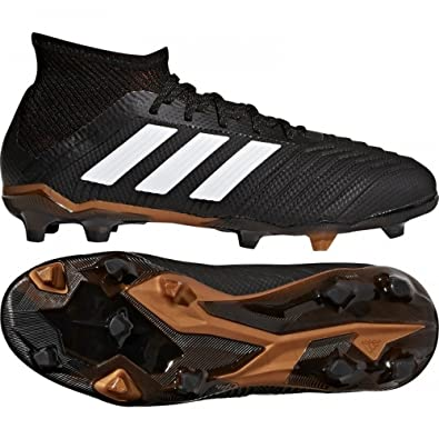 cfbc8b0c4f3 adidas Predator 18.1 Youth FG Cleats  CBLACK  (13K)