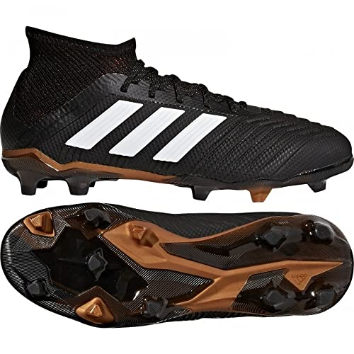 new product 07f6e 3c22e adidas Predator 18.1 Youth FG Cleats  CBLACK  (5.5)