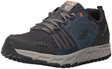 best cheap 69f5e 5a465 Skechers Men s Escape Plan Oxford, Navy Orange, 6.5 2E US