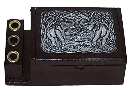 Amazon maipai thai handmade decorative pen and business card maipai thai handmade decorative pen and business card box reheart Images