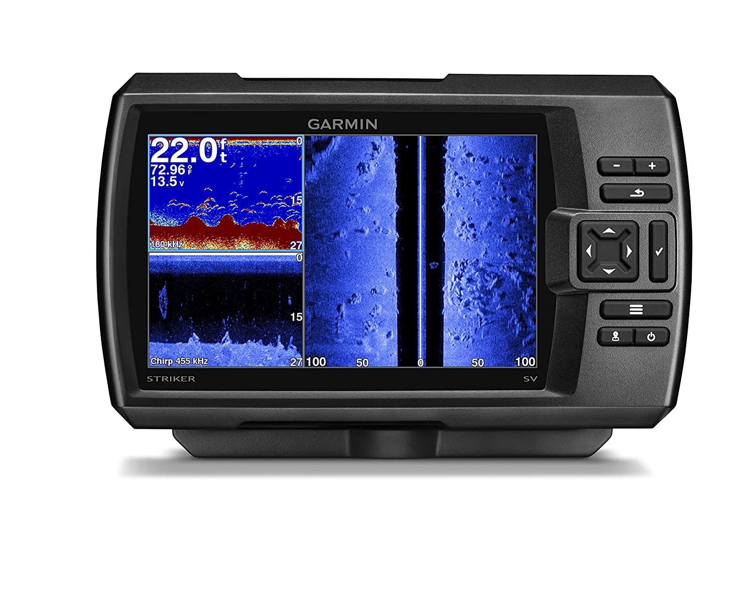Garmin Striker 7SV with transducer