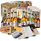 """""""12 Bier Spezialitäten aus Deutschland"""" Geschenkidee für Männer INKL. Bierdeckel + Geschenkkarton + Bier-Info. Biergeschenk für Männer oder als ausgefallene Geschenke für den Freund. Die perfekte Geschenkidee für Männer (12x0,33l)"""