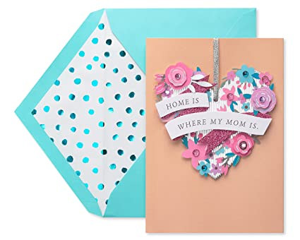 Amazon Com American Greetings Premier Home Mother S Day Card With