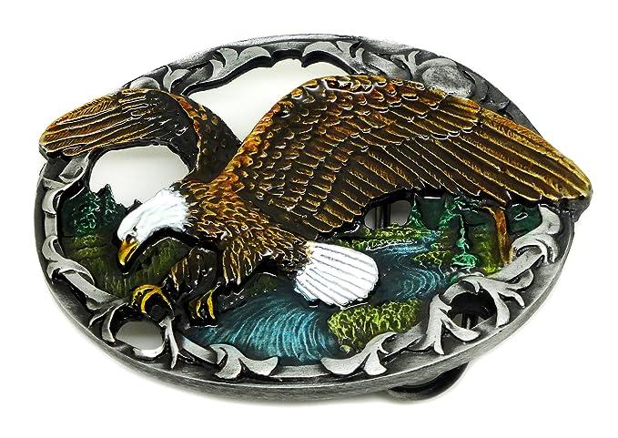 Águila Hebilla de Cinturón - Americana Occidental Temático Caza ...