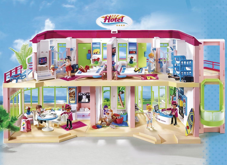 Playmobil 5265 jeu de construction grand hôtel amazon fr jeux et jouets