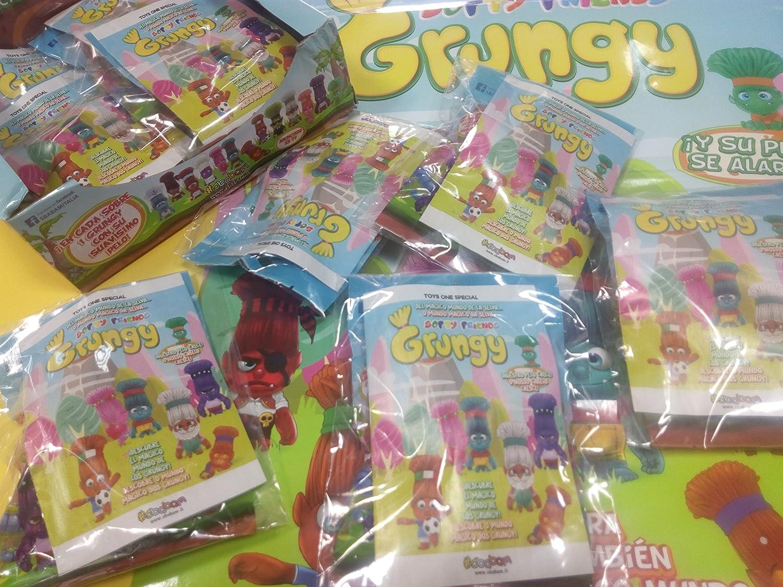 Grungy muñecos de la jungla Pack 5 unidades SOBRES SOPRESA: Amazon ...