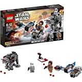 LEGO Star Wars: The Last Jedi Ski Speeder vs. First Order Walker Microfighters 75195 Playset Toy