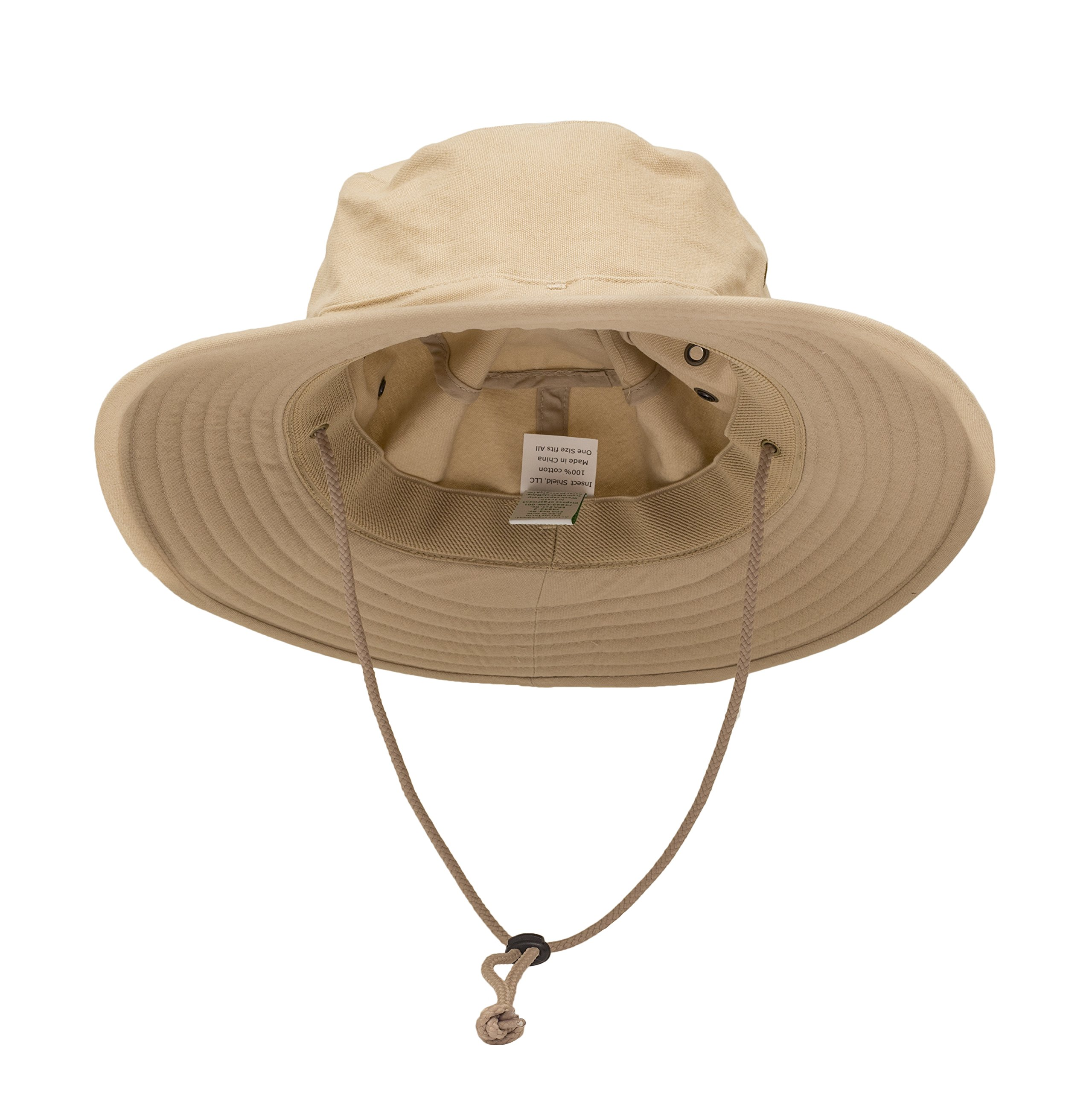 Insect Shield Brim Hat, Sand, One Size Adjustable by Insect Shield