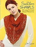 Sock-yarn Shawls: 15 Lacy Knitted Shawl Patterns