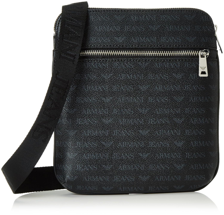 78f13023e5a9 Armani Jeans Men s 932534CC996 Shoulder Bag Black Schwarz (Nero 00020)  23x4x22 cm  Amazon.co.uk  Shoes   Bags