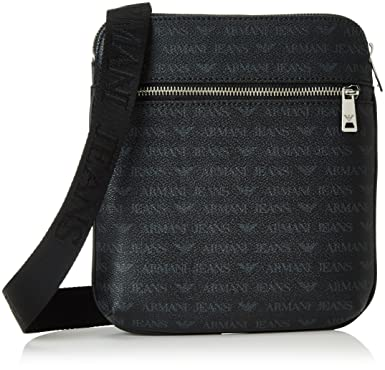 6c26e62dfd Armani Jeans Men s 932534CC996 Shoulder Bag Black Schwarz (Nero 00020)  23x4x22 cm  Amazon.co.uk  Shoes   Bags
