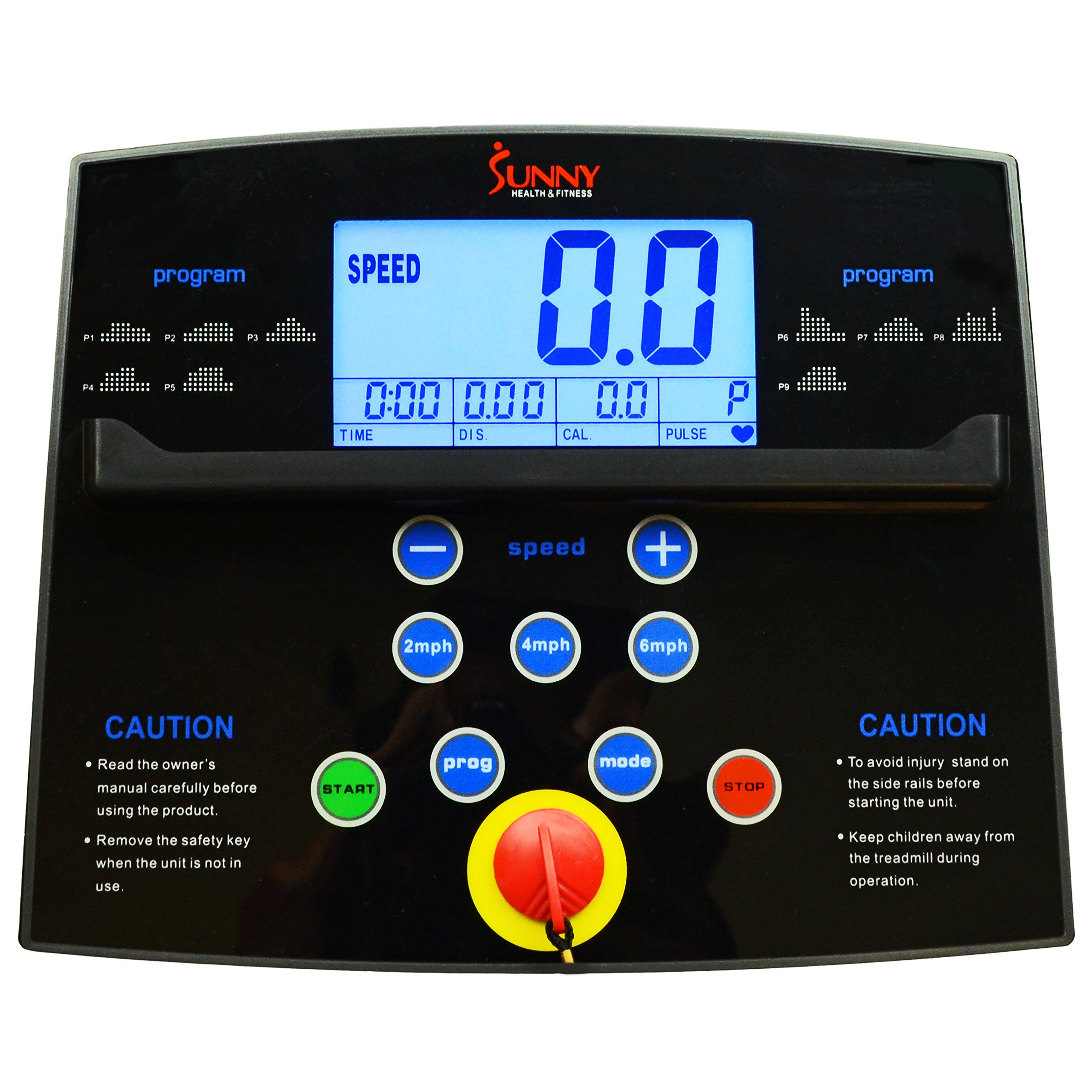 Sunny Health & Fitness Treadmill Folding Motorized Running Machine by Sunny Health & Fitness (Image #10)