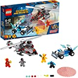 LEGO DC Super Heroes Speed Force Freeze Verfolgungsjagd 76098 Superheldenspielzeug für Kinder