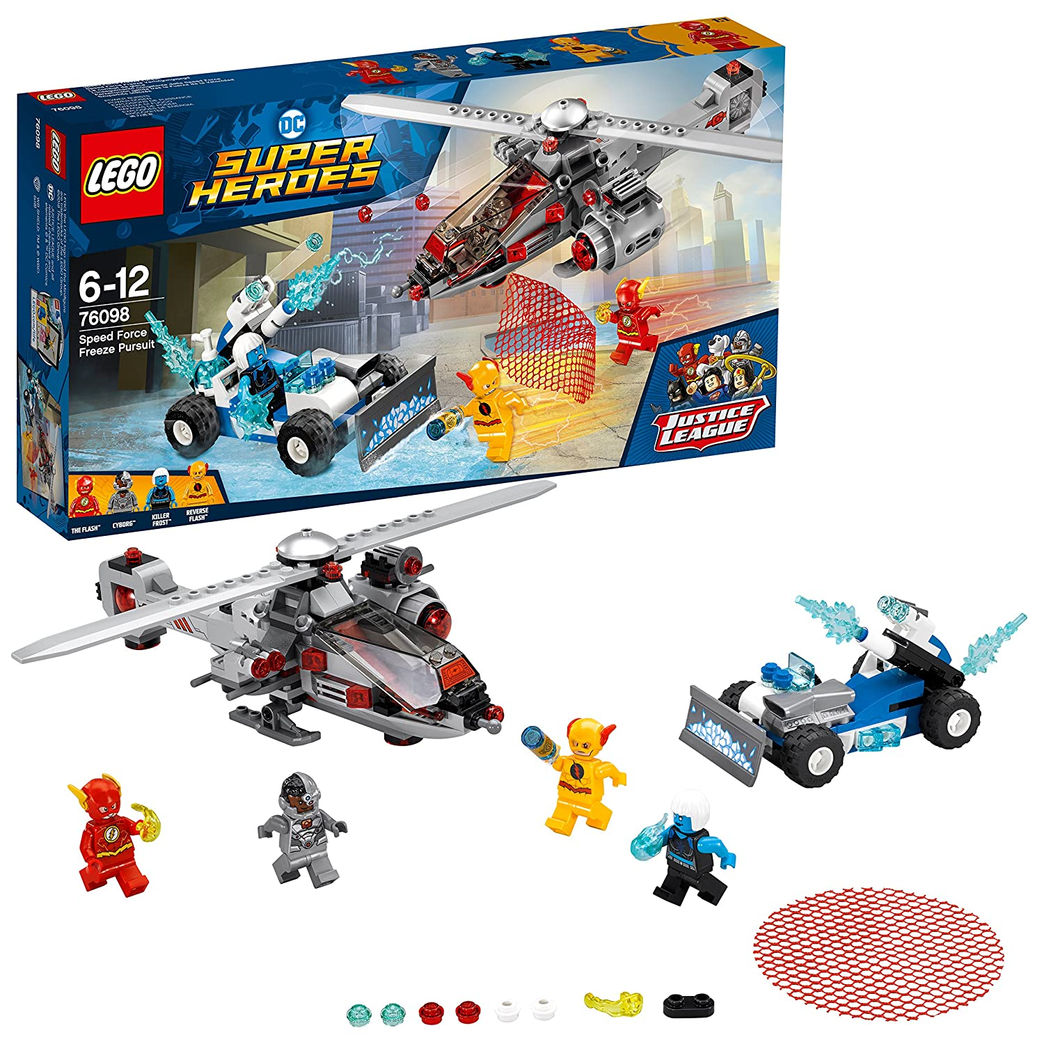 LEGO DC Super Heroes Speed Force Freeze Verfolgungsjagd 76098 ...