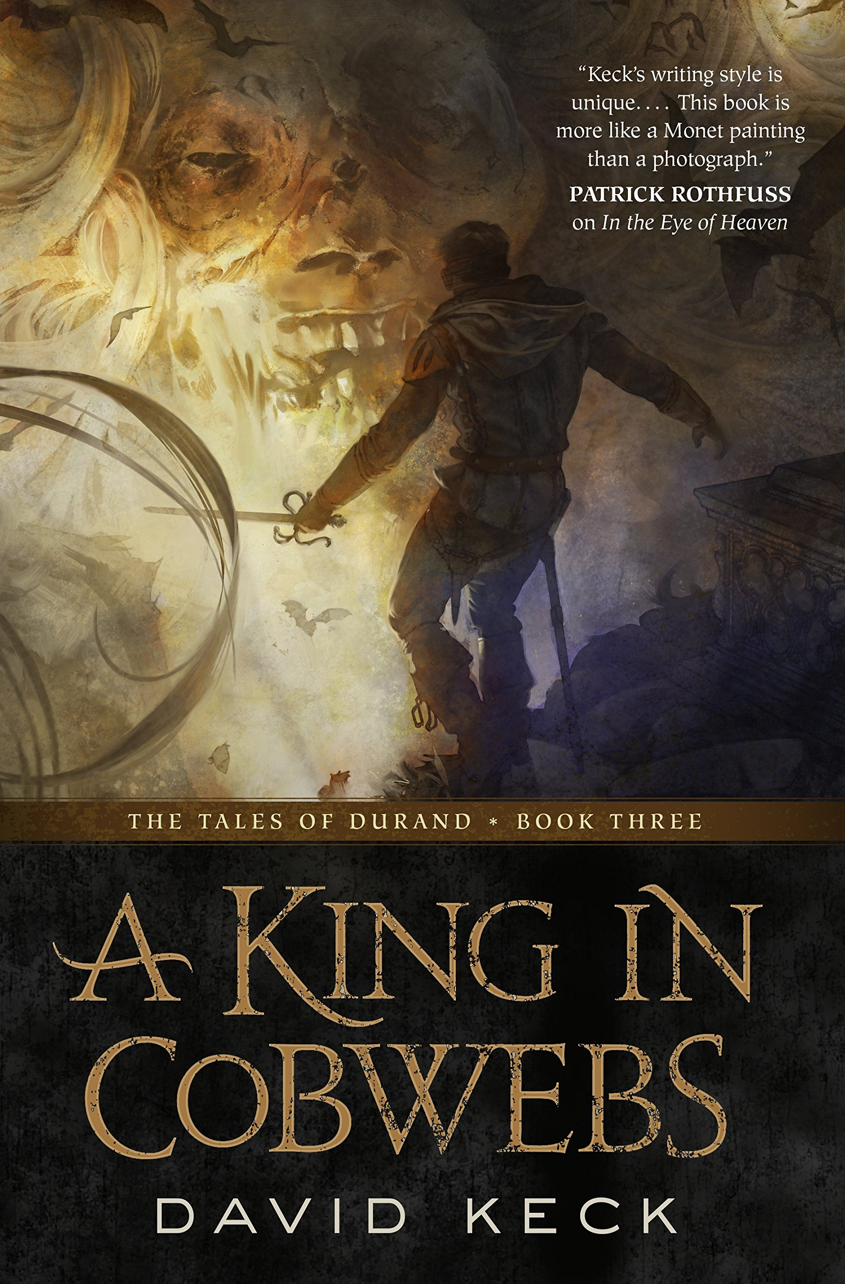 David Keck: Five Things I Learned Writing A King in Cobwebs
