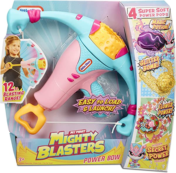 Little Tikes Mighty Blasters Power Bow toy for kids in package
