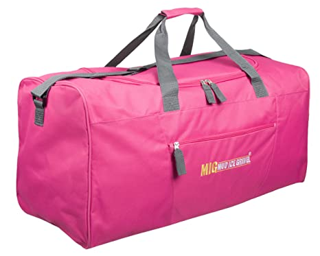 8bd63b2ca714 Ladies Pink Extra Large Holdall Gym   Sports Bag - TRAVEL SPORTS DUFFLE WORK