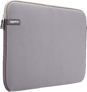 AmazonBasics 15 to 15.6-Inch Laptop Sleeve - Grey