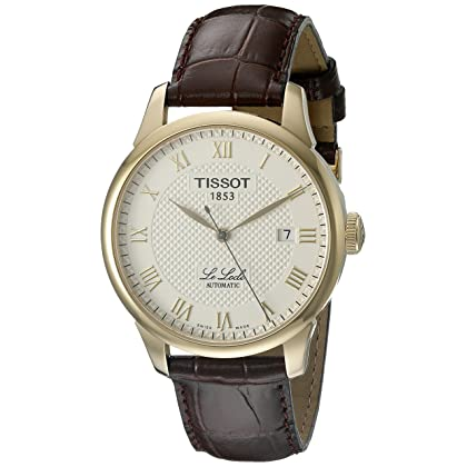 Tissot Men's T41.5.413.73 Le Locle Automatic Skeleton-Back Watch