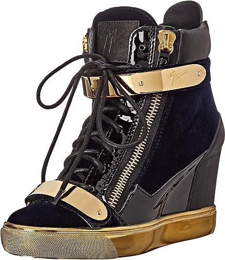 339c479cac6 Giuseppe Zanotti RW5010 Veronica Navy Women s Wedge Shoes  Amazon.ca  Shoes    Handbags