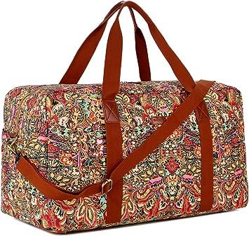 Amazon.com: BAOSHA HB-32 Bolsa de lona para viajes, para fin ...