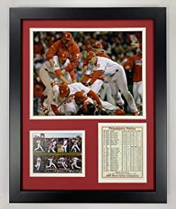 """Legends Never Die Philadelphia Phillies 2008 MLB World Series Champs Collectible 