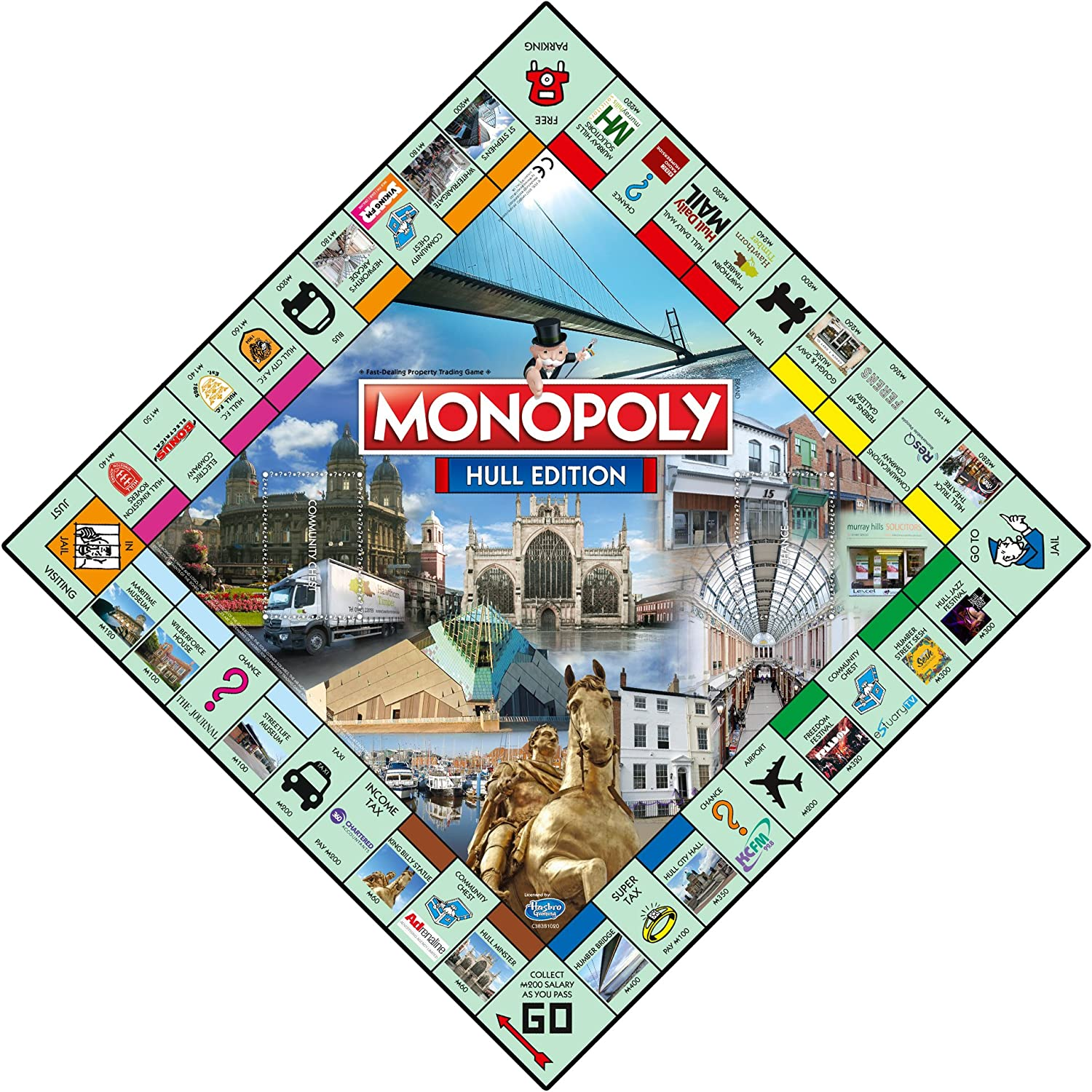 Monopoly Hull Board Game [Importación inglesa]: Amazon.es: Juguetes y juegos