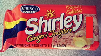 Shirley Ginger Biscuits - 3.7 Oz - 4 Pack