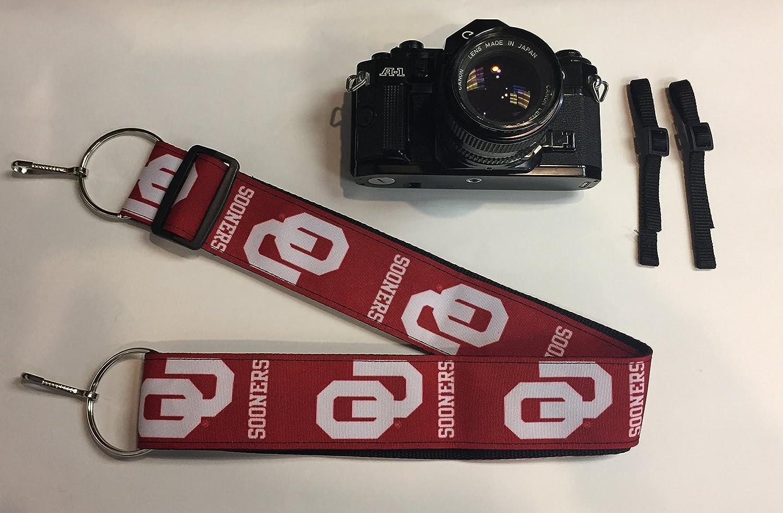 NCAA Collegiate Camera Strap University of Oklahoma Sooners