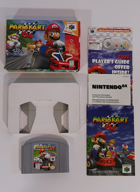 Amazon Com Mario Kart 64 Video Games