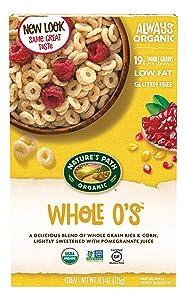 Nature's Path Organic Cereal, Whole O's, 11.5 Oz Box