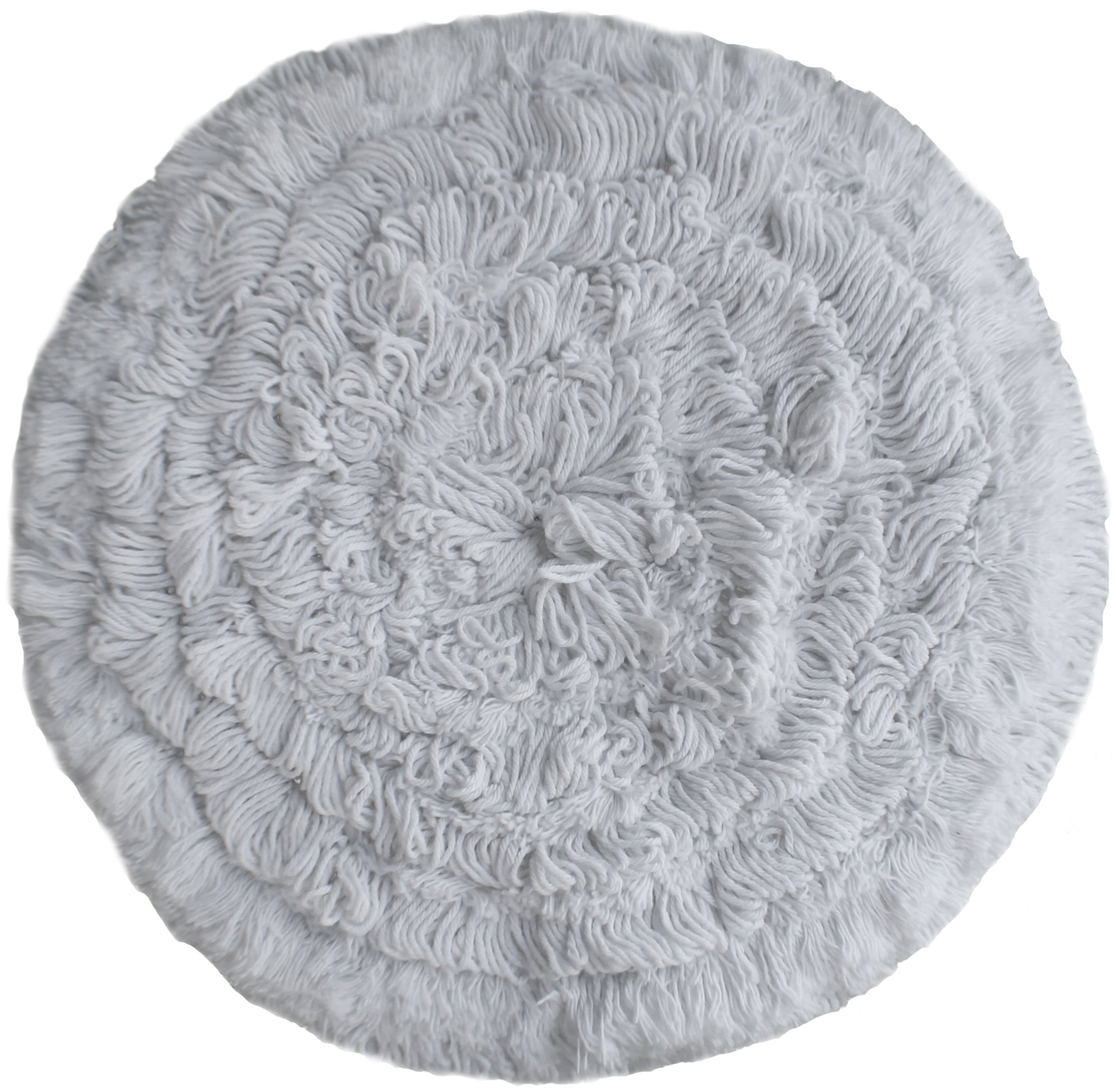 High Profile Rayon Carpet Bonnets 17'' - 6 Pack by Direct Mop Sales