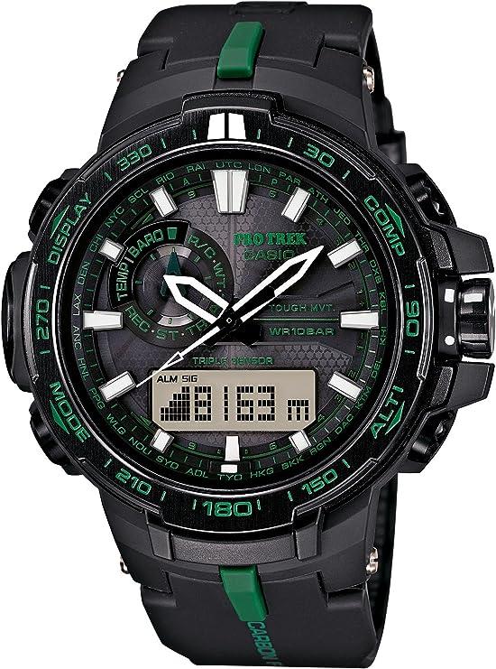 [カシオ] 腕時計 プロトレック RM Series Triple Sensor Ver.3 PRW-S6000Y-1AJF ブラック