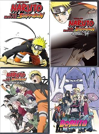 Amazon.com: Naruto Shippuden: 4 Movie DVD Collection (Bonds ...