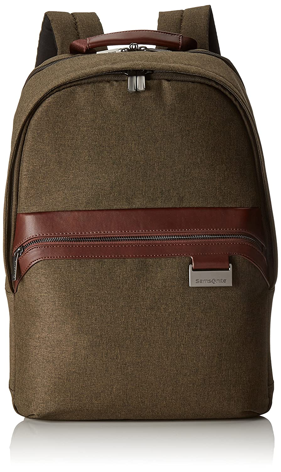 Samsonite Upstream Mochila Tipo Casual para Portátil cm L Color Marrón Natural