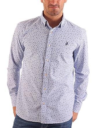 Lois Camisa Hombre Parismina Tortugueo Azul Claro XL: Amazon.es ...