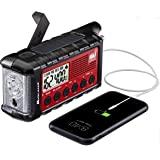 Midland - ER310, Emergency Crank Weather AM/FM Radio - Multiple Power Sources, SOS Emergency Flashlight, Ultrasonic Dog Whist