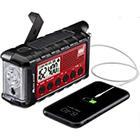 Midland - ER310, Emergency Crank Weather AM/FM Radio - Multiple Power Sources, SOS Emergency Flashlight, Ultrasonic Dog…