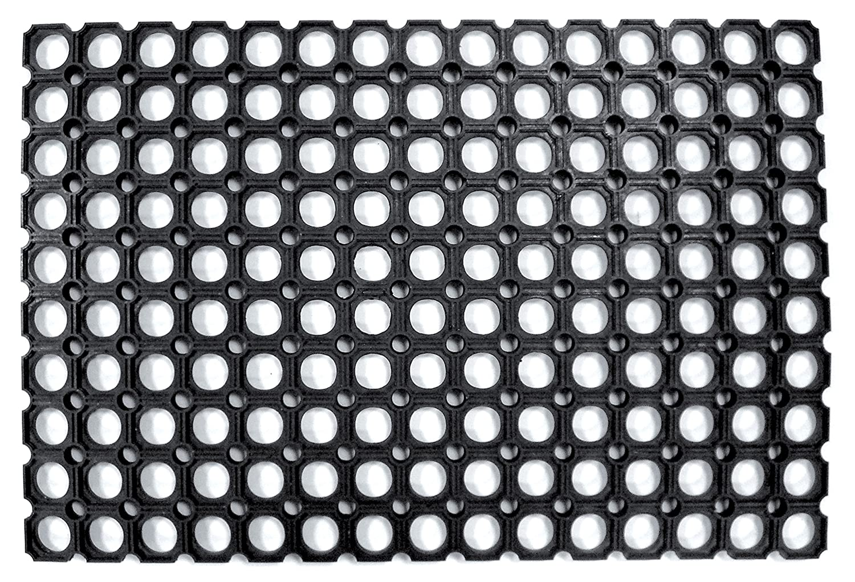 Cenni Ettore y hijo Felpudo robustus Part PVC negro CM40 X 70 10 ...