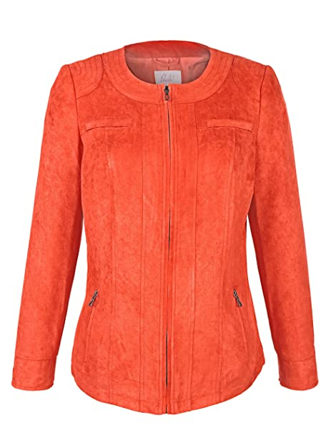 Paola - Chaqueta de traje - para mujer rojo frambuesa 46: Amazon.es: Ropa y accesorios