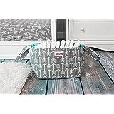 Danha Gray Arrow Diaper Storage Caddy