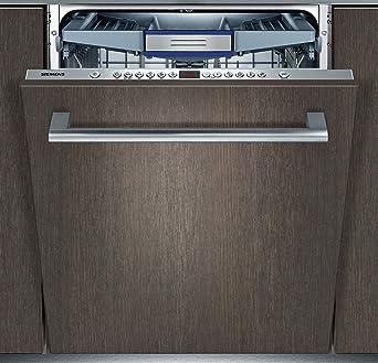 Perfekt Siemens IQ500 SN66M098EU SpeedMatic Vollintegrierter Geschirrspüler / Einbau  / A+++ / 14 Maßgedecke / Zeolith® Trocknen / VarioSpeed / AquaStop:  Amazon.de: ...