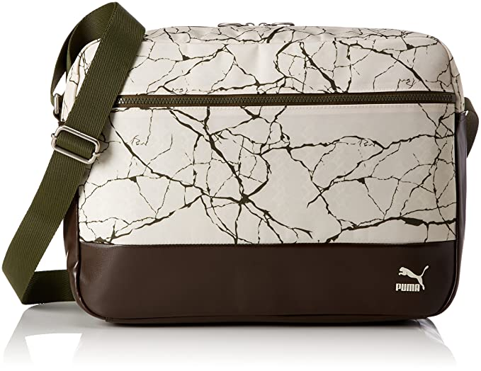 61fff53569 Puma Originals Reporter Sac à Bandoulière Mixte, Birch-Graphic, 46 x 29 x