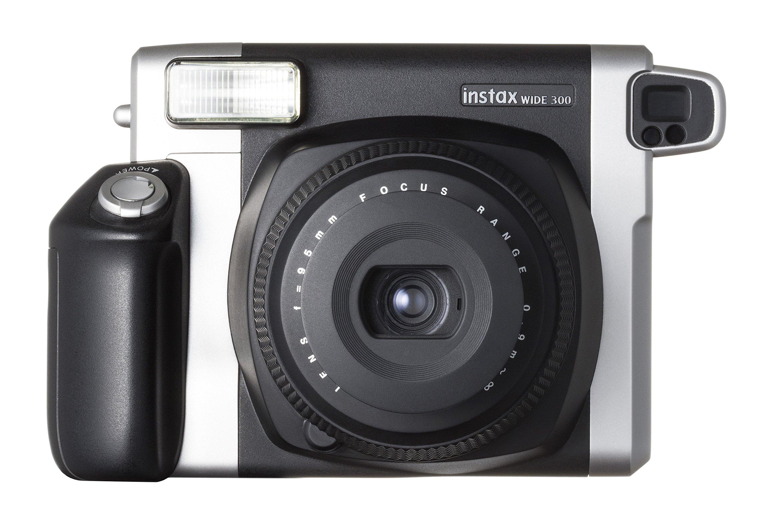 Fujifilm Instax Wide 300 Instant Film Camera (Black) by Fujifilm