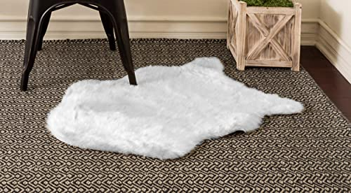 Home Must Haves Sheep Skin Area Faux Sheepskin Rug
