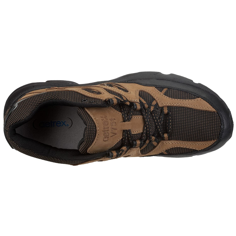 Apex Mens Sierra Trail Runner Brown Hiking Shoe