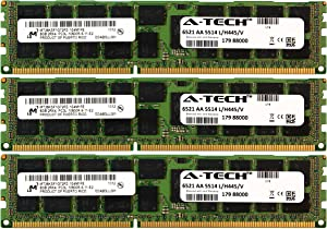 A-Tech Micron 24GB Kit 3X 8GB PC3-10600 1.35V for Dell Precision Workstation T5600 20D6F T7500 SNPJDF1MC/16G T7600 A6996807 T5500 A2626071 A2626092 A3721494 A3721500 A3721505 Memory RAM